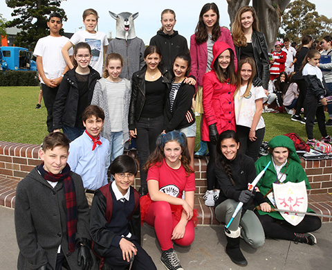 Rosebank Students Get Into Character